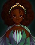 Custom Princess Tiana Doll