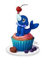 Popplio Cupcake