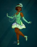 Princess Tiana (Mickey's Royal Friendship Faire) by daisyein