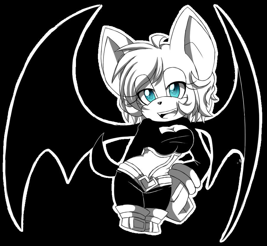 Sketch Rouge The Bat By Moriomii On Deviantart
