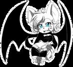 |Sketch| Rouge the Bat