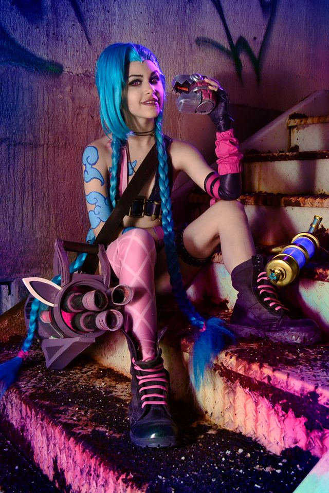 Jinx cosplay by Kelly-Chan7