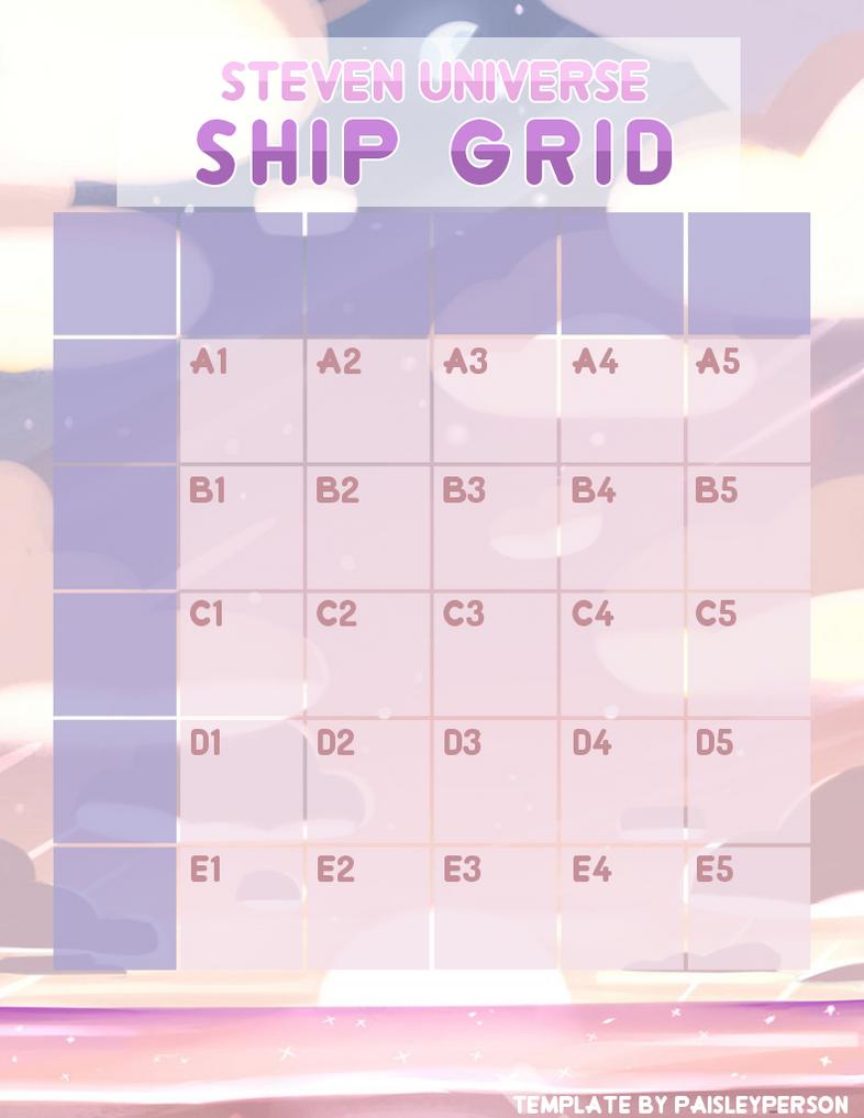 steven universe ship grid ftu template by paisleyperson on deviantart