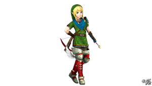 Linkle's Smash4 Menu Inspired  (QuickAlt)