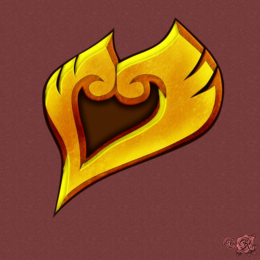Heart Gold Emblem by S3BurningRose