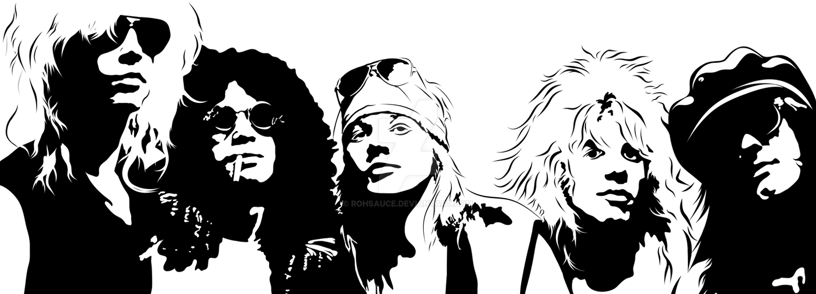 Guns N Roses HQ by Rohsauce on DeviantArt