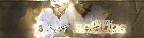 Anaheim Ducks . Selanne_by_kukasdesigns