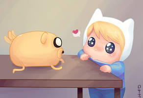 Jake and Finn by Rosana127