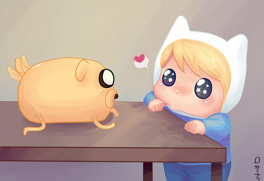 Jake and Finn by Rosana127