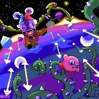 Marx- Kirby Super Star by AoiUchida