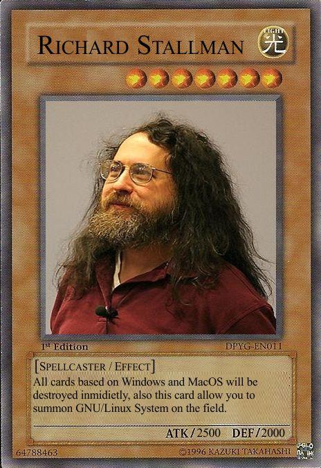 Carta Richard Stallman