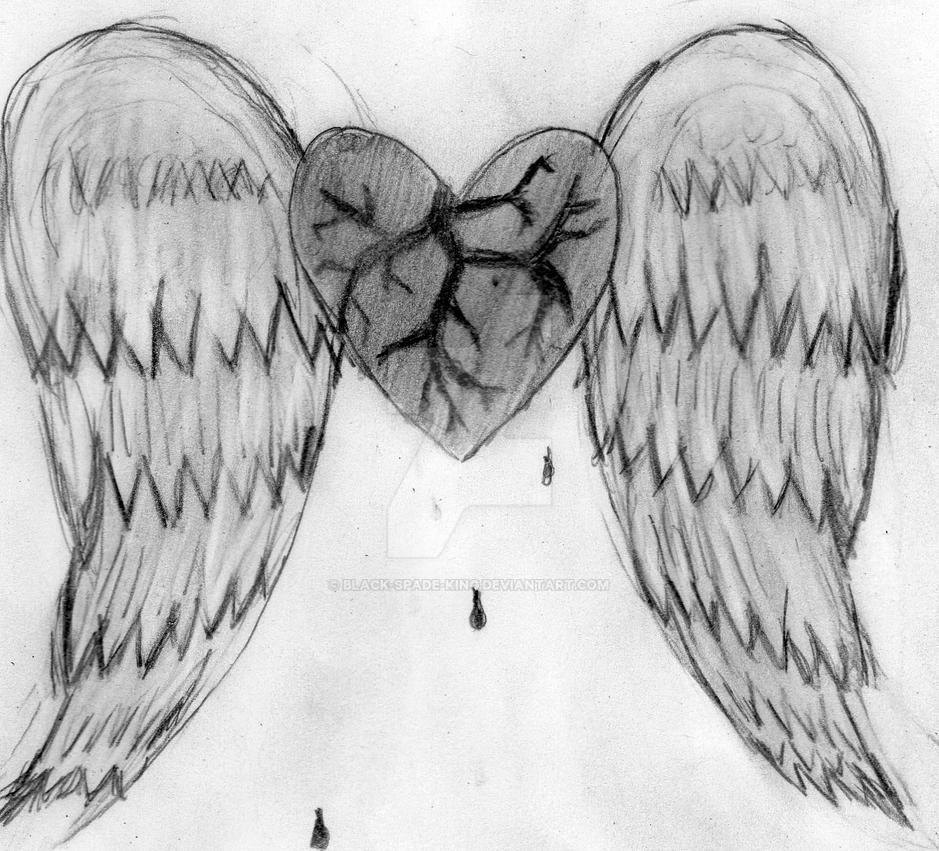 The Broken Angel's Heart by black-spade-king on DeviantArt