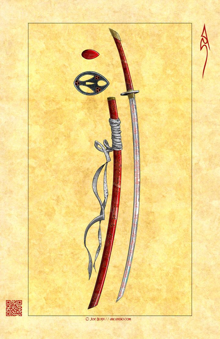 Los cimientos del Imperio - Página 6 Konkou___Katana_by_Arcandio