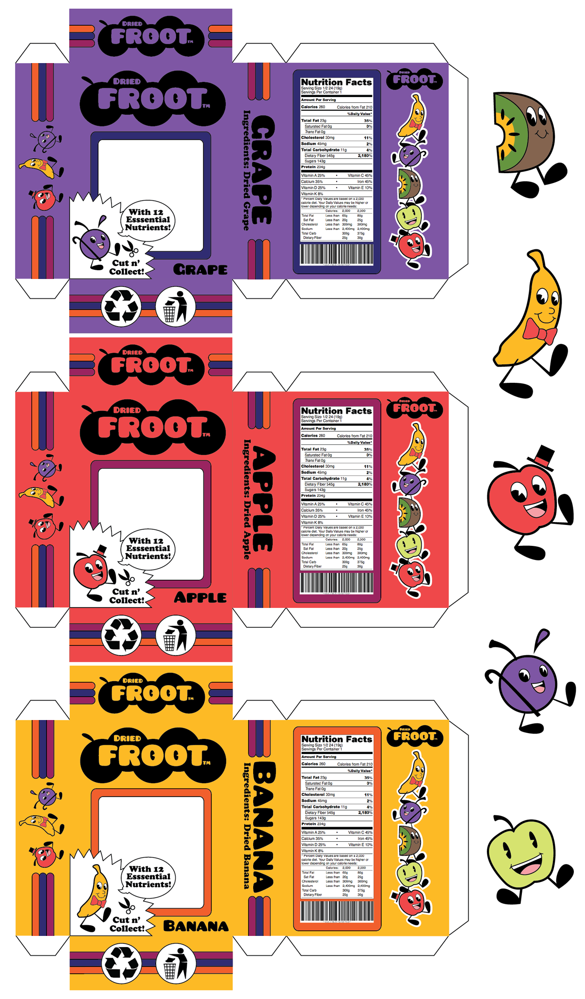 Dried Fruit Package Design By Hozna On Deviantart
