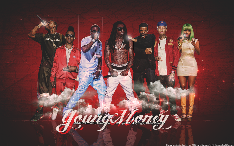 We Are Young Money Wallpaper
