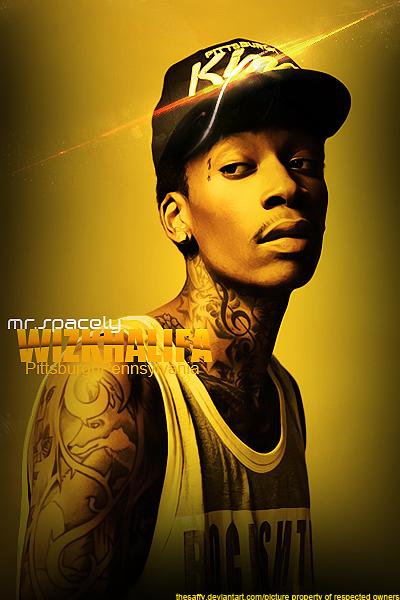 Wiz Khalifa 2 By TheSaffy