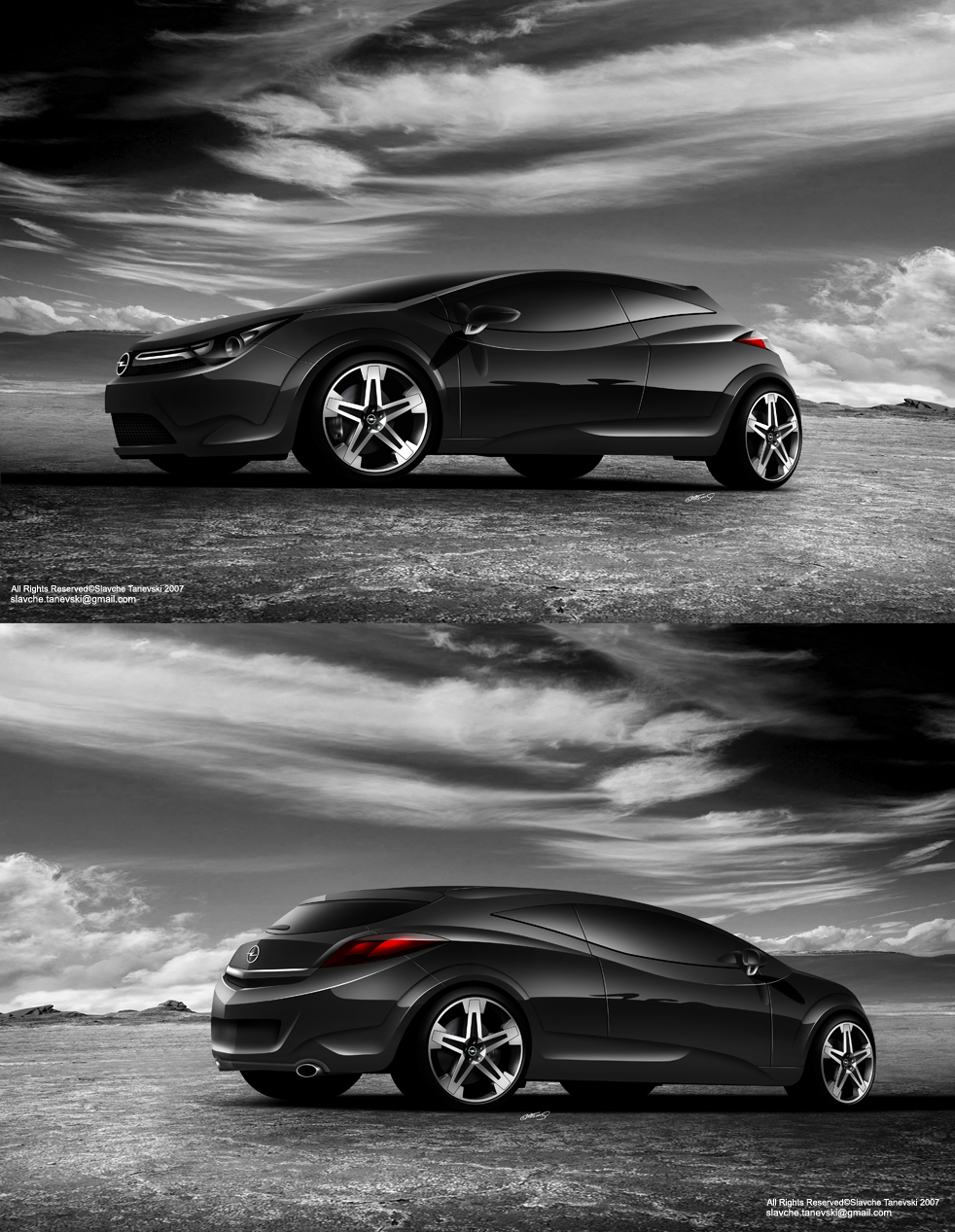 opel astra gtc by slavche on deviantart. Black Bedroom Furniture Sets. Home Design Ideas