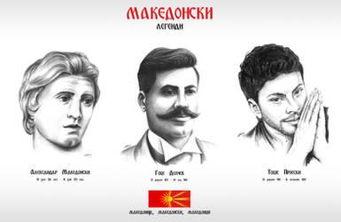 Macedonian legends by Slavche
