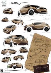 Opel Caldera by Slavche