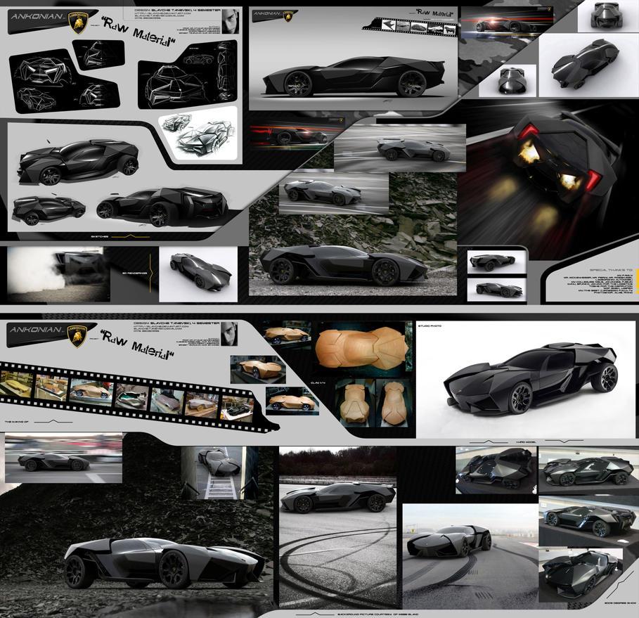 Lamborghini ankonian concept interior lamborghini - Lamborghini Ankonian By Slavche