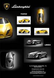 Lambo SUVs Toro and LM003