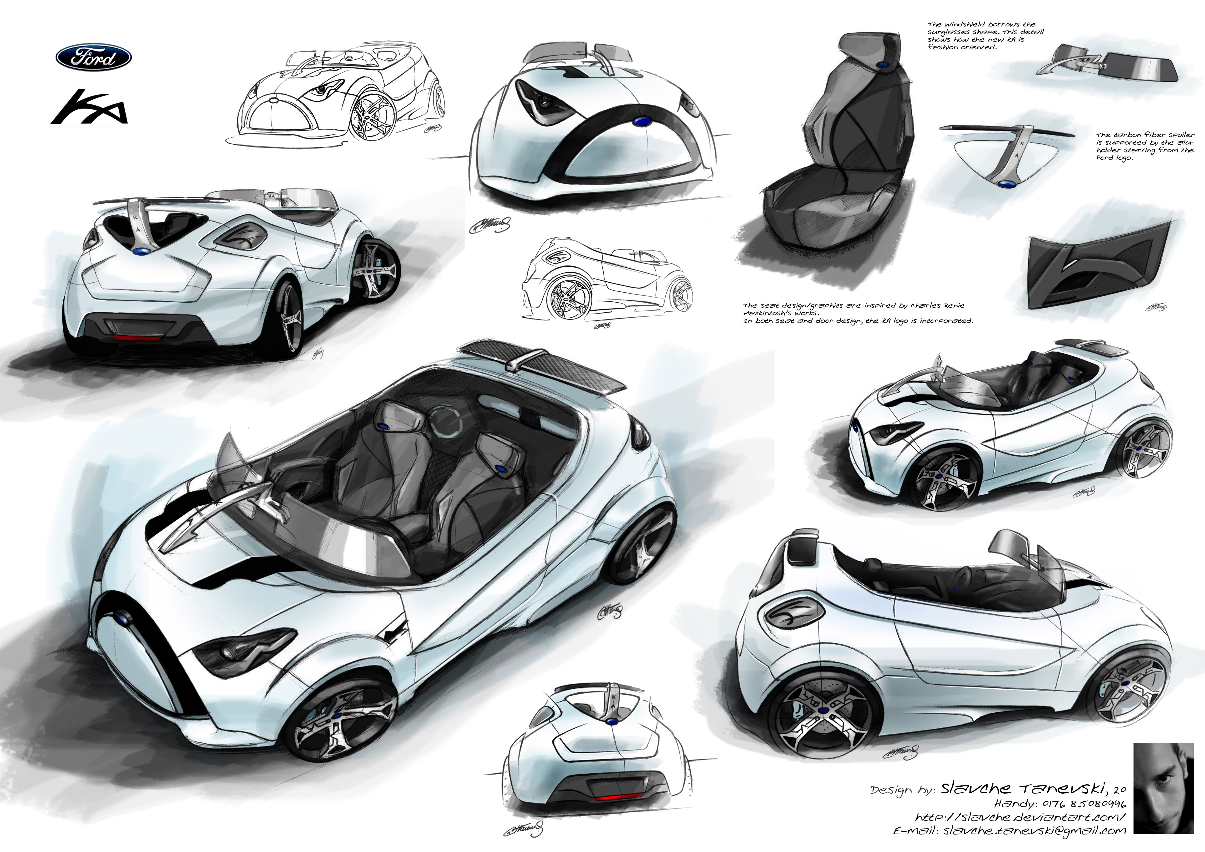 Ford Ka Concept by Slavche