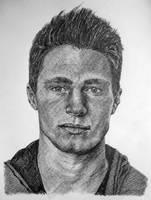 Colton Haynes by Art-of-man