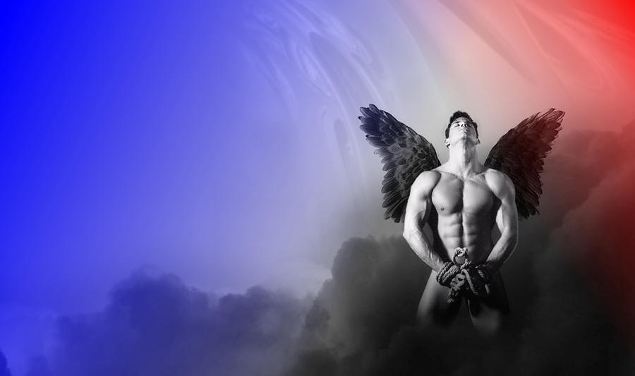 sexy fallen male angels wallpaper - photo #30