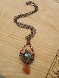 Autumn pendant by AngelGuerra