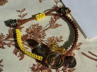 Spirals wristband 1 by AngelGuerra