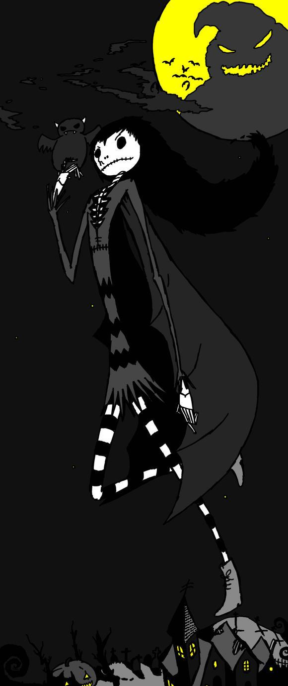 Taranee4545's Halloween OC (Request) by Thanatar18