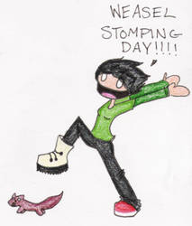 WEASEL STOMPING DAY