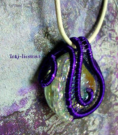 Crocus Pendant by Loki-Liesmith
