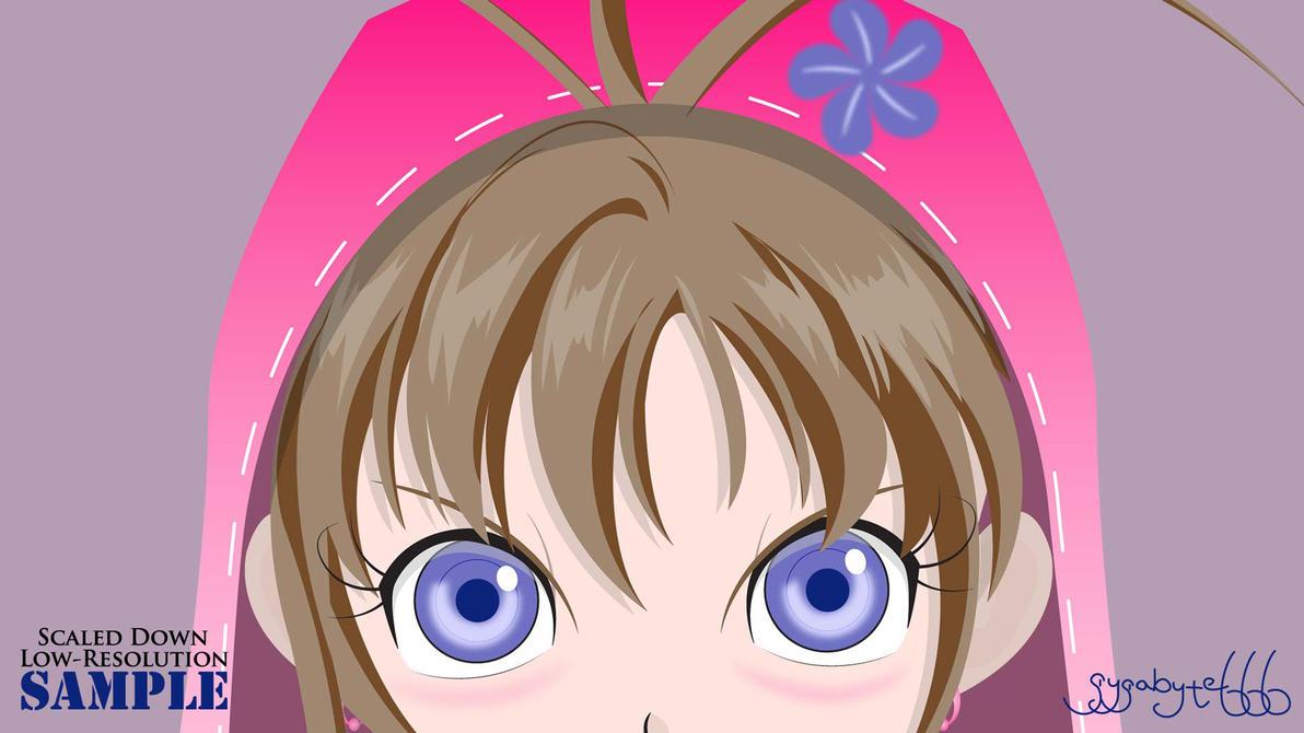 Glaring Sakura OC [Rev2] by gygabyte666