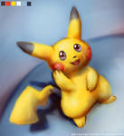 Pikachu by lixydynavolt