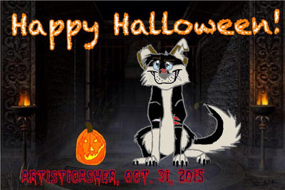 HAPPY HALLOWEEN!!!!!!!!! by ArtisticAsher