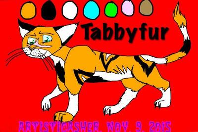 Tabbyfur Character Sheet by ArtisticAsher