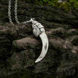 Raven Talon Pendant Necklace