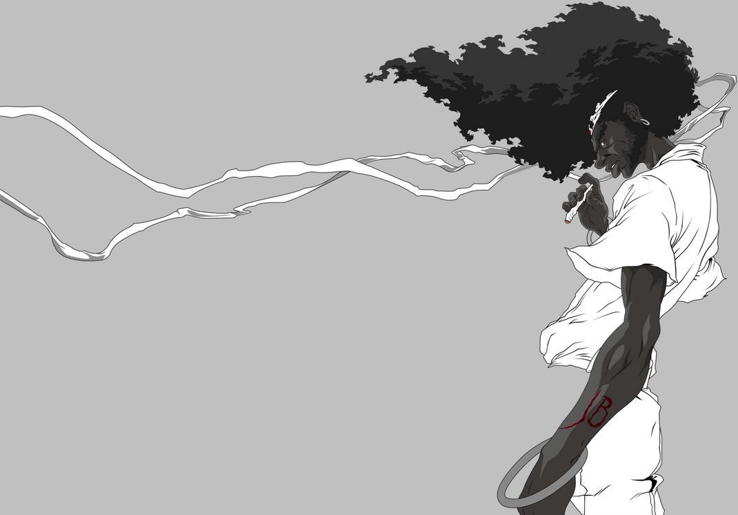 Afro Samurai Vectorized Beta by JackTheBasslover on DeviantArt