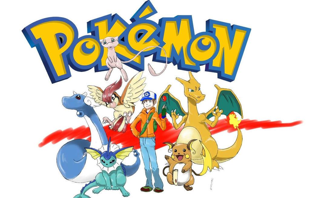 My Pokemon Team (Red Version) by SpeakKhody