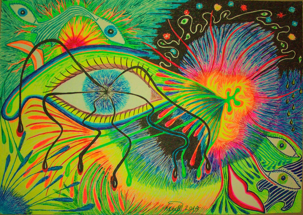 Eye To The Universe by MikeGould