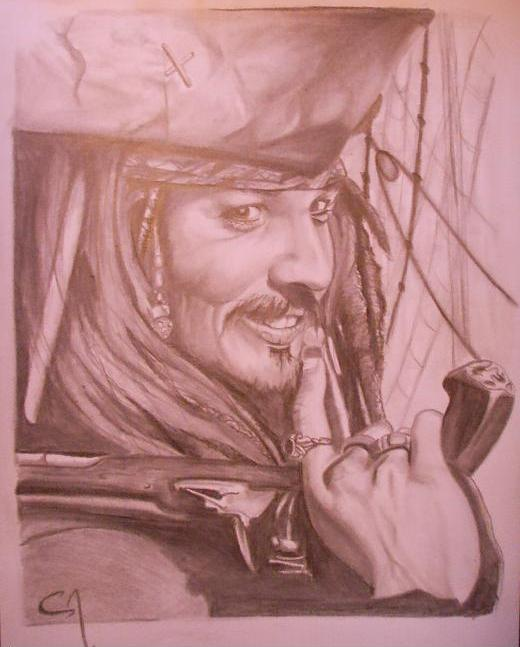 Airbrush Designs Jack Sparrow