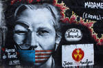 Assange - Anonymous by Landjager