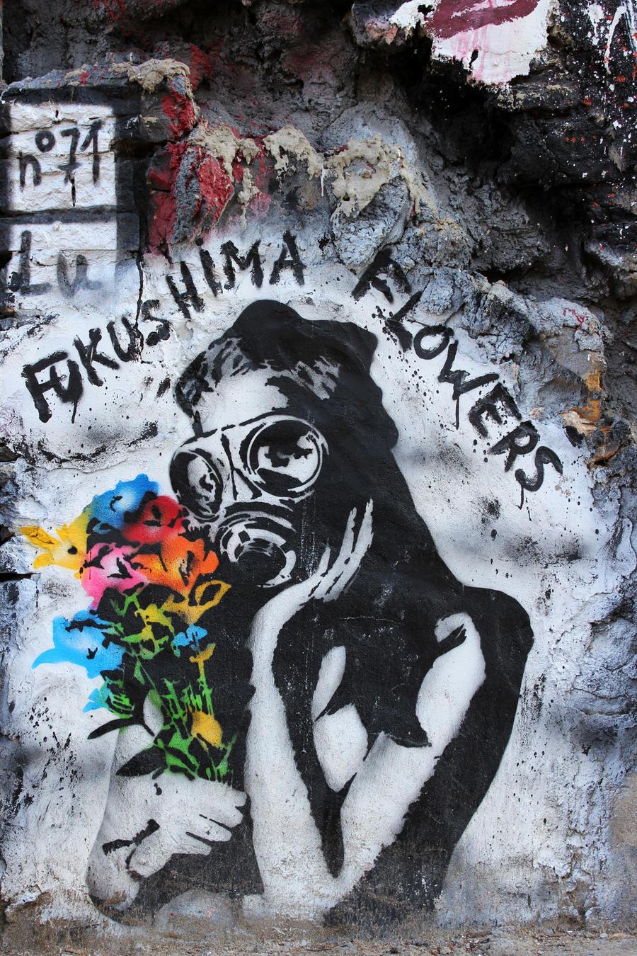 Fukushima Flowers by Landjager