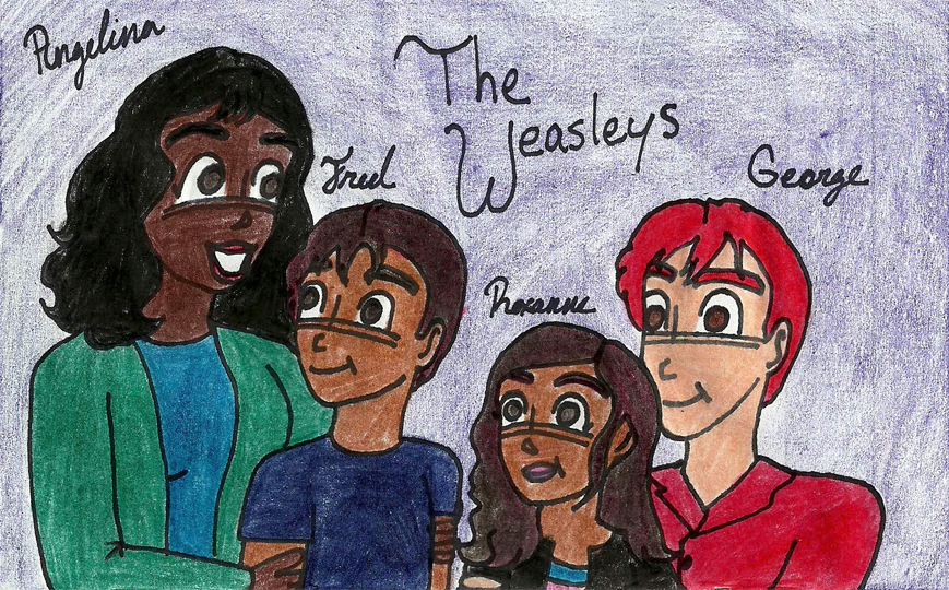 The Weasley Family by Weasleytwintastic on DeviantArt