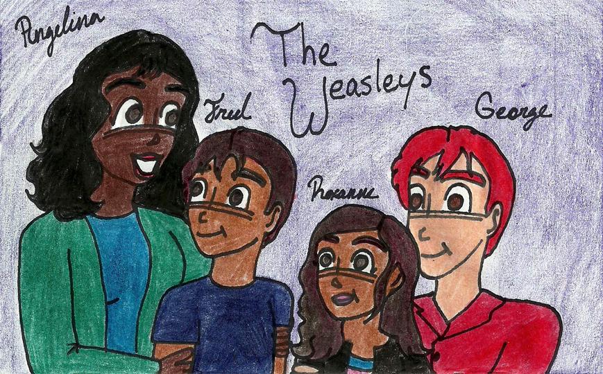 The Weasley Family by Weasleytwintastic on DeviantArt