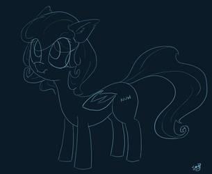 A Batpone Sketch by Sand9k
