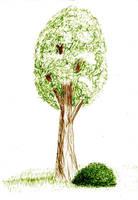 Uh... a tree... by Pupiiiiii