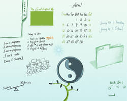 company wallpaper for april by salvin18