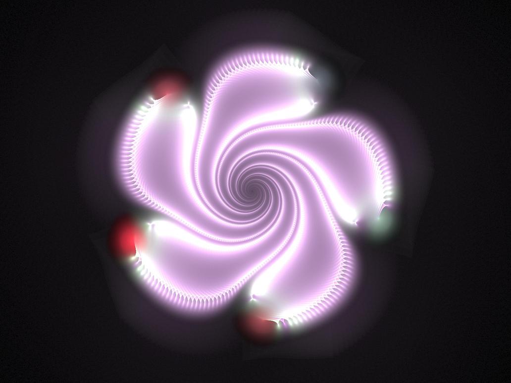 Neon Flower 2 by salvin18